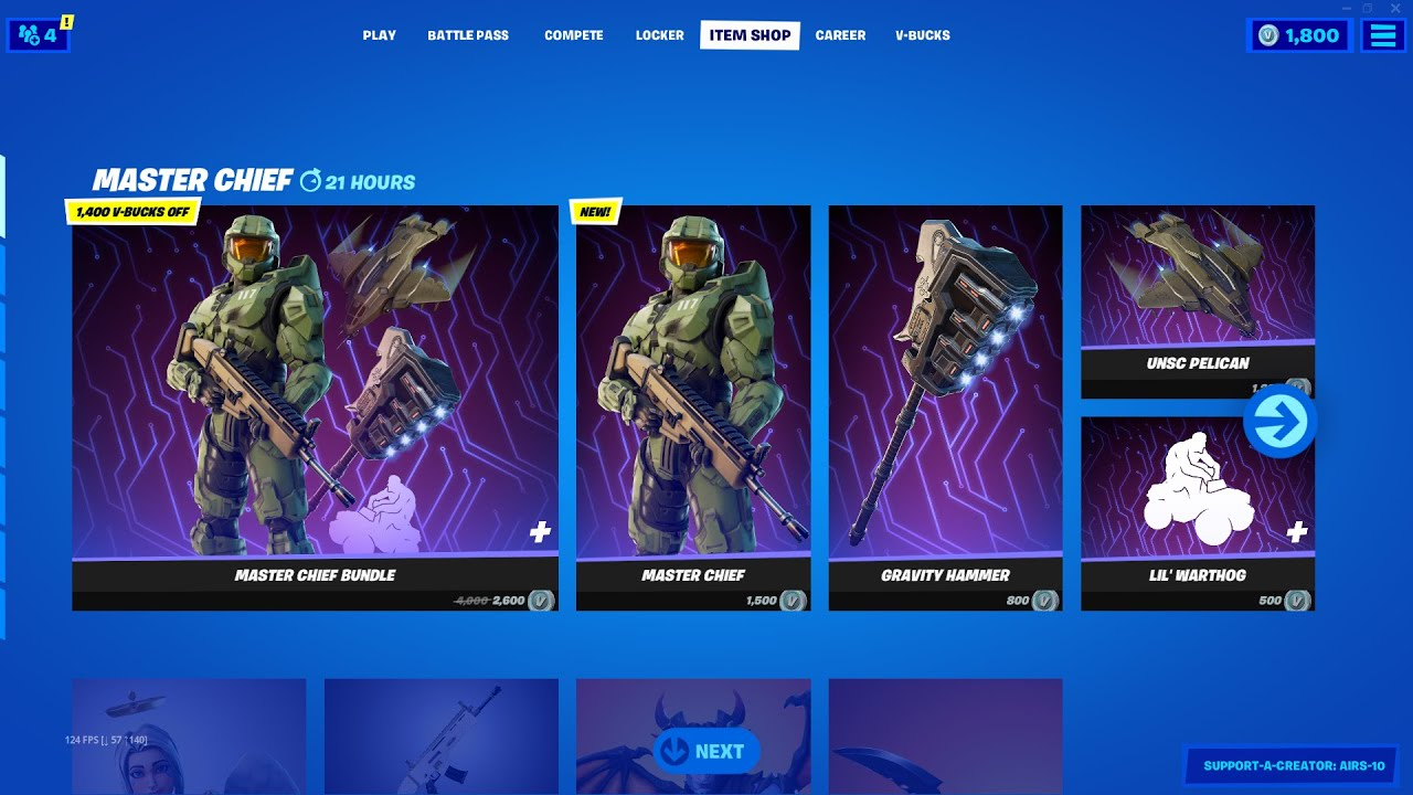 NEW Master Chief Bundle in Fortnite!