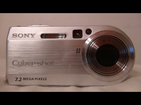 2004 Sony Cybershot DSC P150 Review And Test