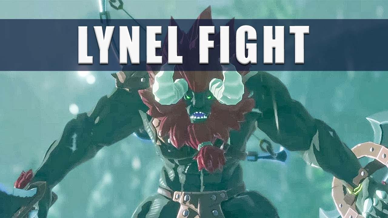Hyrule Warriors Age Of Calamity Lynel Fight How To Beat The Lynel Youtube