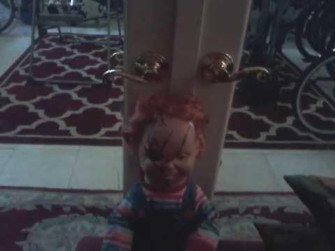 My Spencer S Talking Chucky Doll Youtube