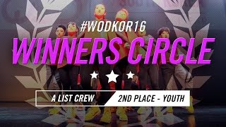 A LIST CREW | 2nd Place – Youth Division | World of Dance South Korea Qualifier 2016 | #WODKOR16
