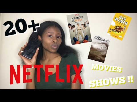 20+ NETFLIX RECOMMENDATIONS!!👀| What To Watch On Netflix