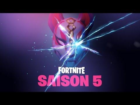 Teaser Officiel Theme De La Saison 5 Sur Fortnite Youtube