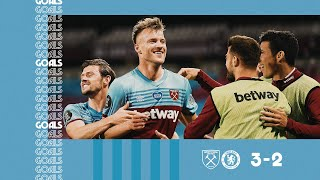 GOALS | WEST HAM UNITED 3-2 CHELSEA