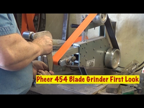 Pheer 454 2x72 Belt Grinder Review After A Year Of Use Doovi