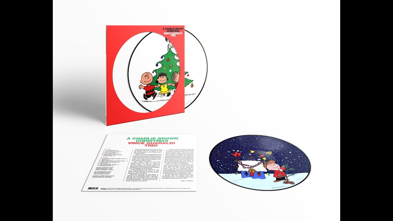 A Charlie Brown Christmas - Barnes & Noble Exclusive Picture Disc ...