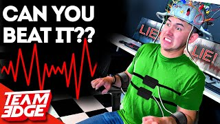 Can We BEAT a Lie Detector?? He was so bad!😂