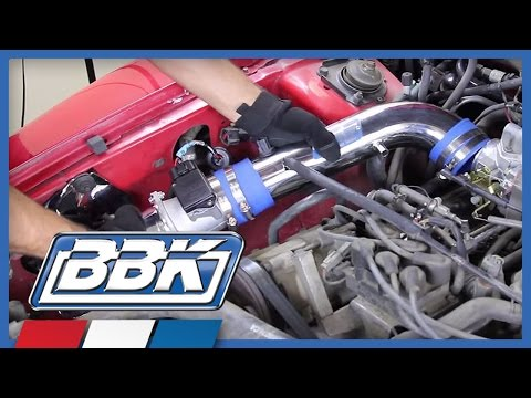 Ford Mustang 3.8L V6 BBK Cold Air Induction kit Installation (1994-2004)