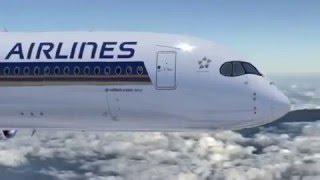 Airbus A350 XWB della Singapore Airlines