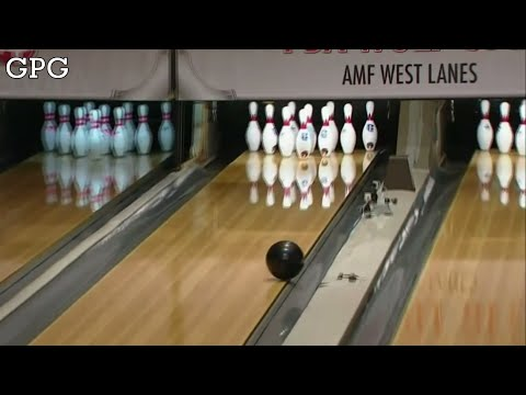 PBA Bowling | Pete Weber throws a gutterball 【Full HD】