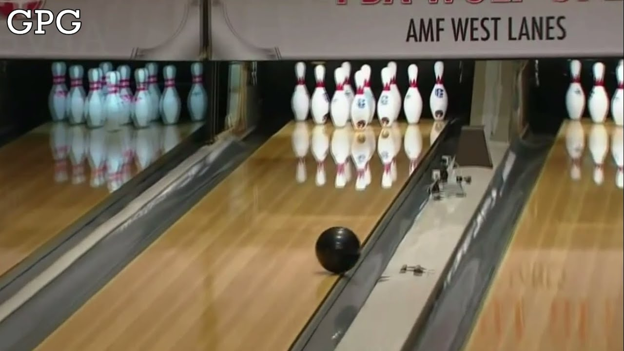 Pba Bowling Pete Weber Throws A Gutterball 【full Hd