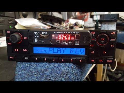 VOLKSWAGEN BETA VWZ1Z2. Remove Cassette Tape  Even Install USB Micro Sd M2 Aux Bluetooth