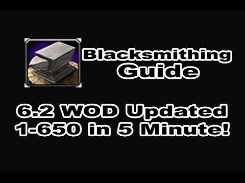 Lovely Blacksmithing Guide World Of Warcraft