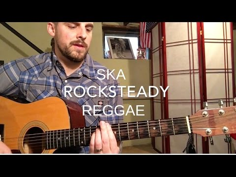 The Difference Between Ska, Rocksteady, and Reggae Guitar - Guitar Lesson
