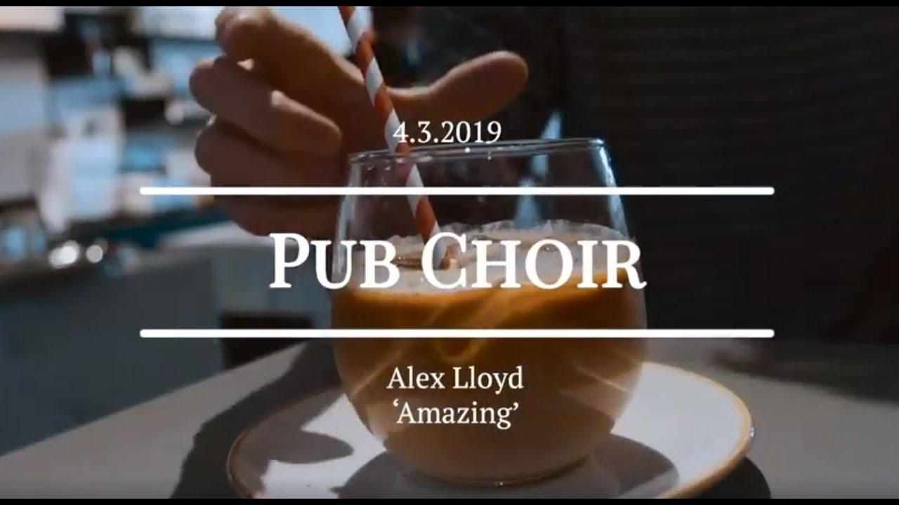 Pub Choir sings