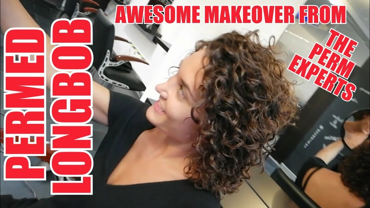 AWESOME SPIRAL PERMED BOB A MAKEOVER YOU HAVE TO SEE BY THE PERM EXPERTS DAUERWELLE JMF