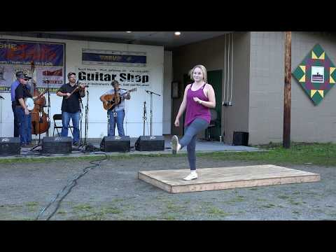 Ashe County Bluegrass and Old-Time Fiddlers Convention - Dancin' Time