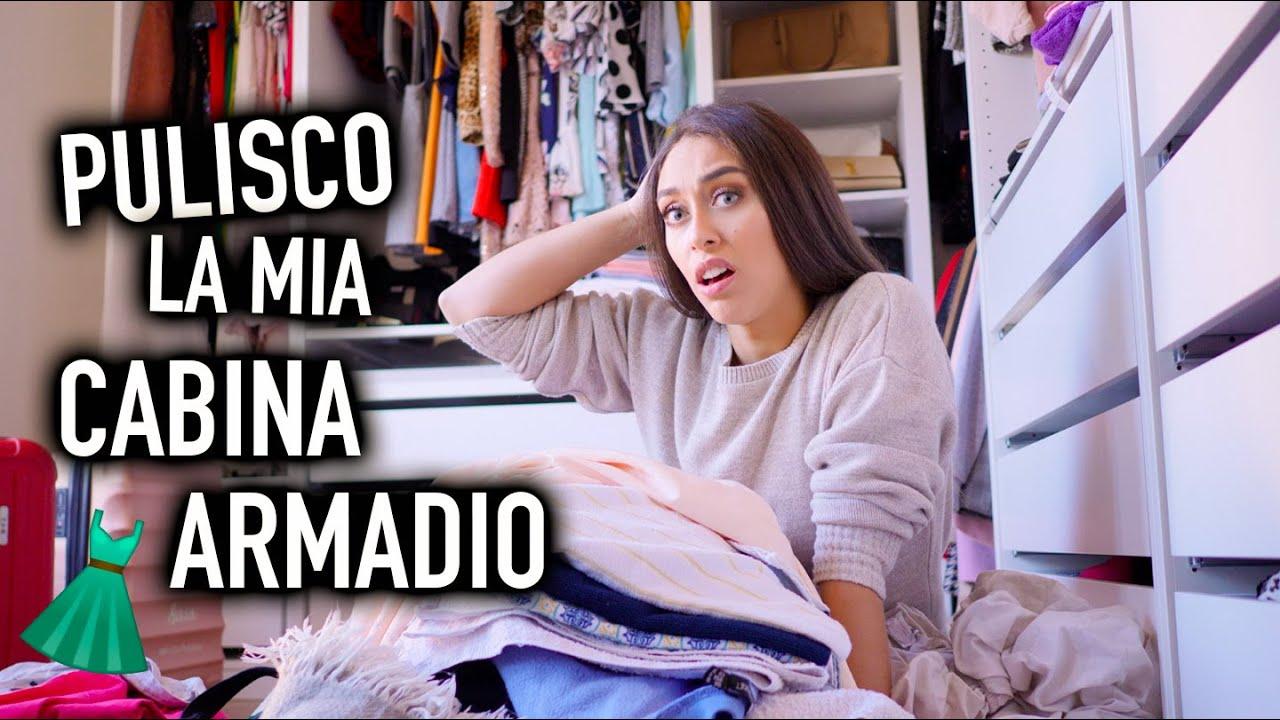 La Mia Cabina Armadio.Decluttering Della Mia Cabina Armadio Closet Tour Vlog