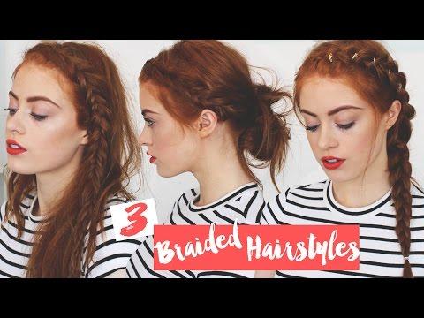 3 Braided Hairstyles | MsRosieBea