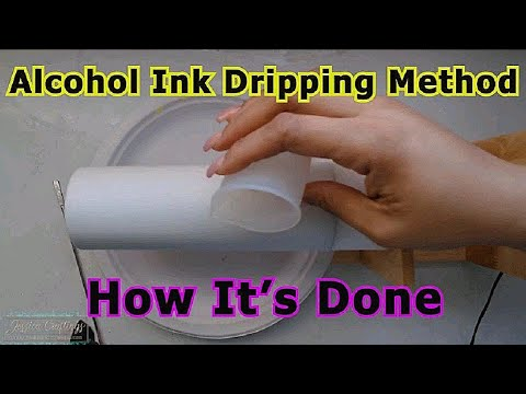 Alcohol Ink Dripping Method [Not a Tutorial] thumbnail