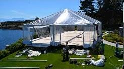 40x80 Frame Tent Victoria BC by Rental Network Ltd