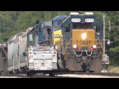 [39] CSX Trains En Route to Atlanta, Railfanning Hull - Lawrenceville, GA, 07/10/2016 ©mbmars01