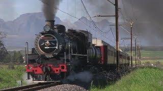 Поездки на поездах с паровозом привлекают туристов в ЮАР (новости)