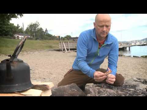 """Lær deg å tenne bål! Boka """"Bål"""" av Thomas Svardal"""