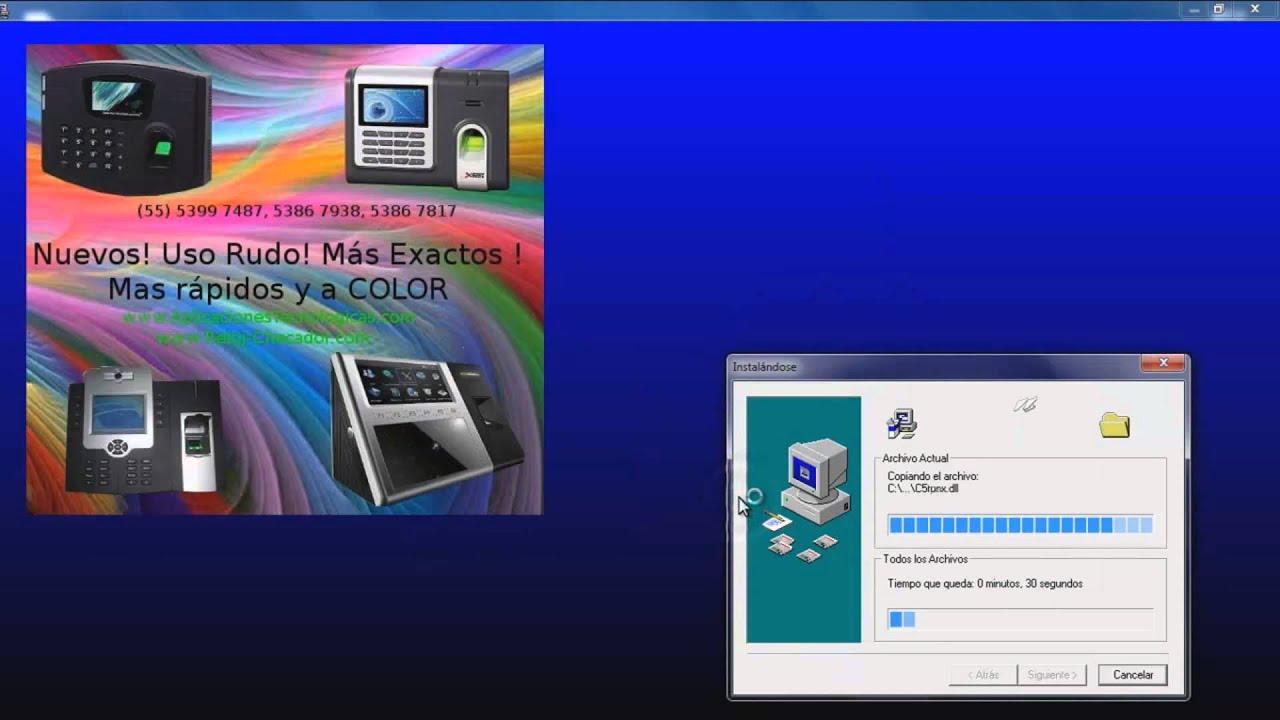 Zksoftware X628c Manual
