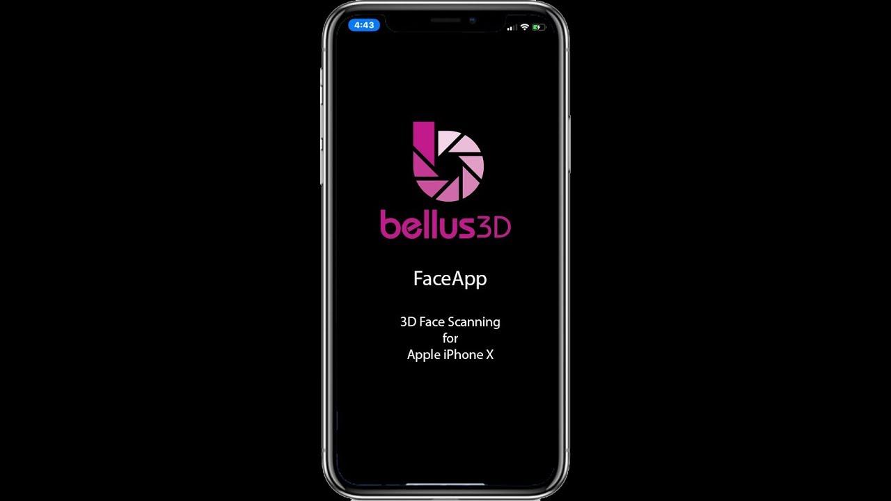 Bellus3D Announces High-Resolution 3D Face Scanning App for Apple