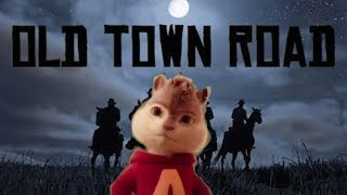 #horsesintheback #oldtownroad #challenge with alvin and the chipmunks