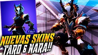 "NEW SKINS ""TARO"" & ""NARA"" FORTNITE ? Rubinho vlc"