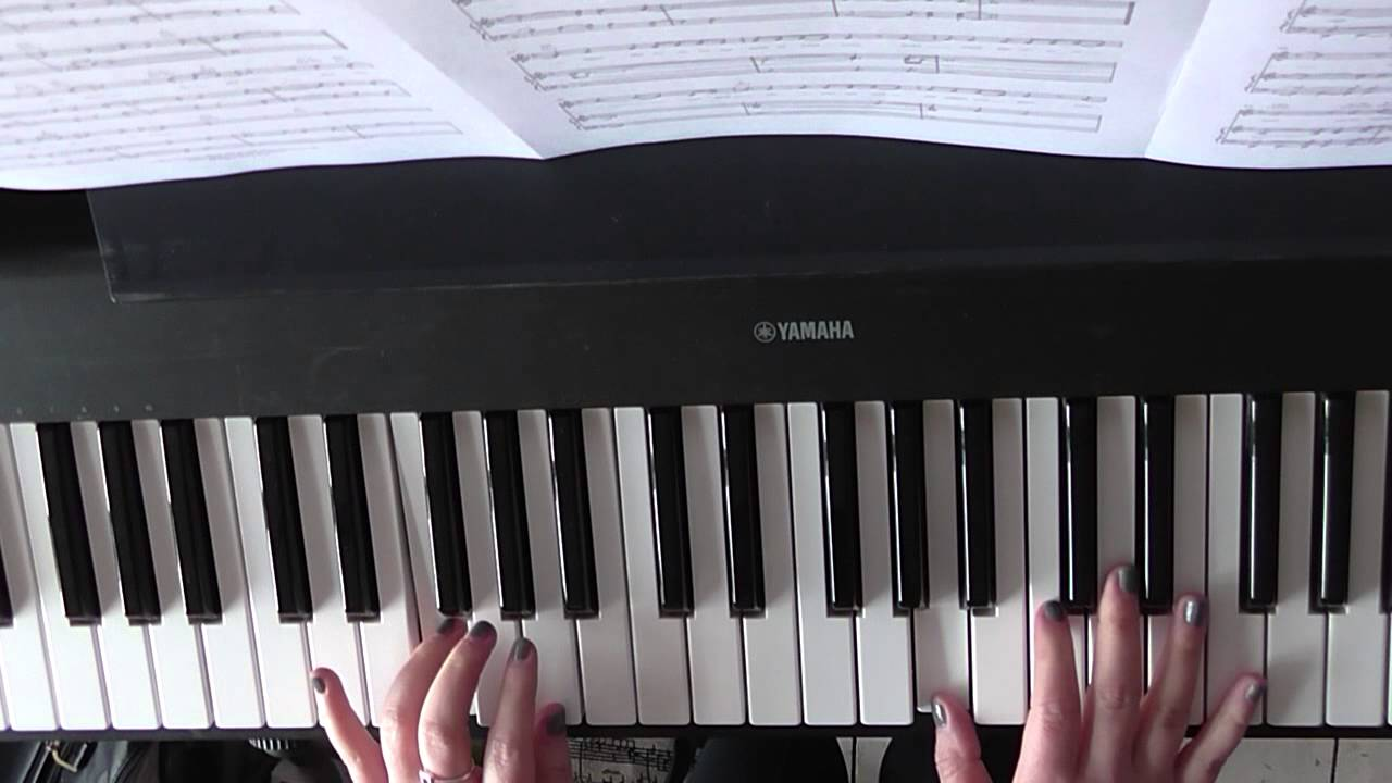 Easy Piano Tutorial Hold Back The River By James Bay Part 1 Introverses