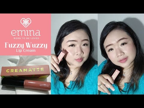 first-impression-review-emina-fuzzy-wuzzy-favorite-color-cream-matte-lip-cream-lokal