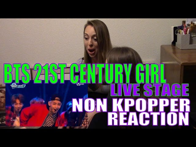 Non Kpopper Marathon Part 1: BTS 21st Century Girl Live Stage Reaction