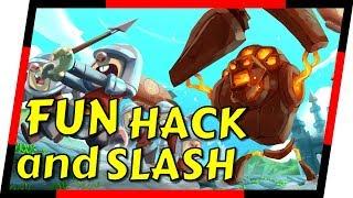 Golem Rage - GREAT HACK AND SLASH INDIE ARCADE GAME   MGQ Ep. 111