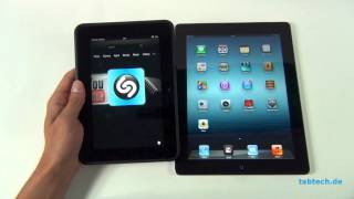 Amazon Kindle Fire HD vs