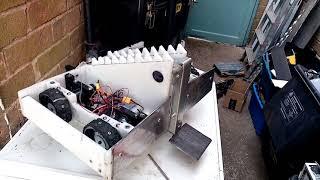 Look inside Lightfury. Featherweight combat robot