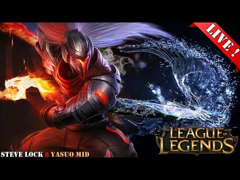 League Of Legends Yasuo Mid
