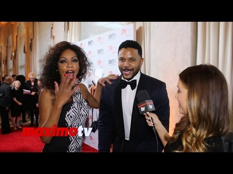 Wendy Raquel Robinson VIDEO BOMBS Hosea Chanchez  TheGameBET
