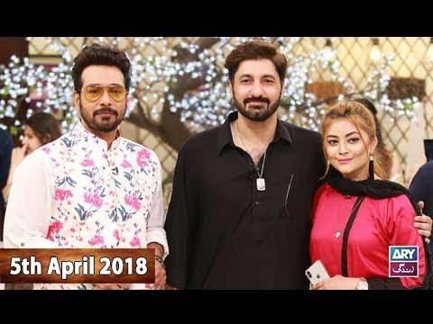 Salam Zindagi With Faysal Qureshi - 5th April 2018 - ARY Zindagi Drama