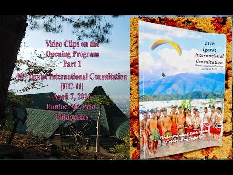 IIC 11 Opening Ceremonies   Part 1