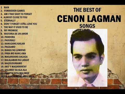 """Ang Prinsipe ng KUNDIMAN - The Best of """"Cenon Lagman"""" Songs (medley)"""