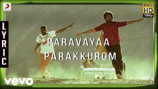 Kayal - Paravayaa Parakkurom Lyric | Anandhi, Chandran | D. Imman