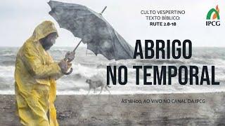 CULTO VESPERTINO - 27/09/2020
