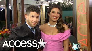 Priyanka Chopra Giggles About 'Limo Lovin' With Husband Nick Jonas
