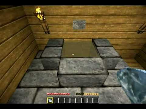 minecraft toilette mit sp lung bauen youtube. Black Bedroom Furniture Sets. Home Design Ideas