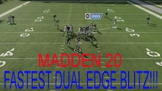 MADDEN NFL 20 BEST DEFENSE!!! | NICKEL NORMAL MINI SCHEME WITH A VERY FAST BLITZ INCLUDED!