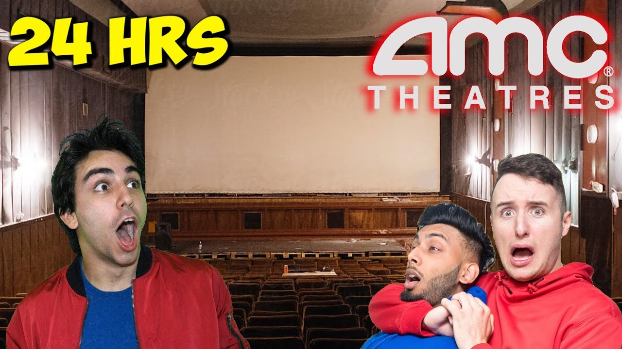 Overnight At Abandoned Amc Movie Theatre 5 Years Later Youtube