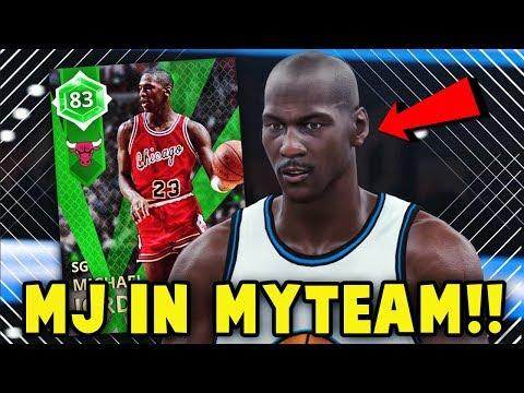 NBA 2K18 MyTEAM EMERALD OPENING NIGHT MICHAEL JORDAN GAMEPLAY!! | NBA 2K18 MyTEAM SUPER MAX